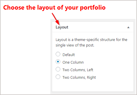 How to Create a Portfolio website on WordPress easily 8