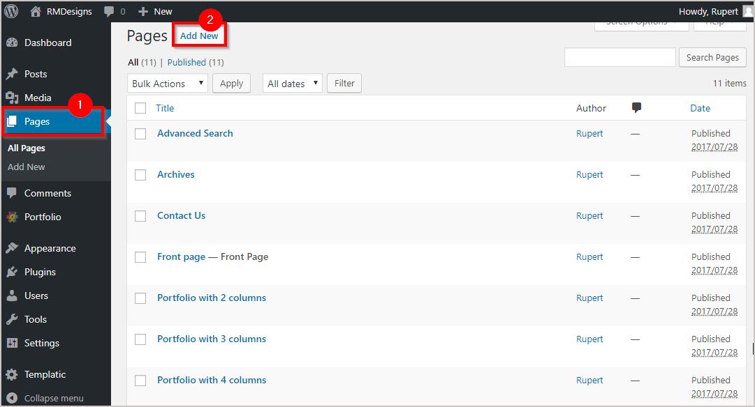 How to Create a Portfolio website on WordPress easily 6