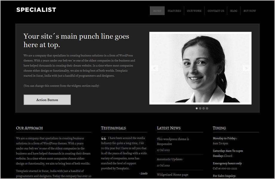 Create a Portfolio website