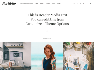 Clean Free WordPress theme