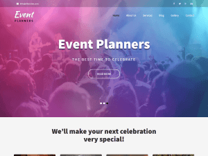 Event Free WordPress theme