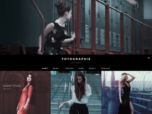 Fotografie Free WordPress theme