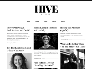 Hive Free WordPress theme
