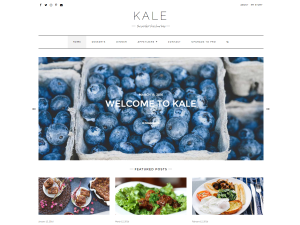 Kale Free WordPress theme