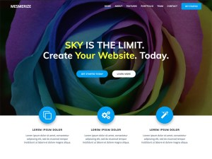 Mesmerize Free WordPress theme