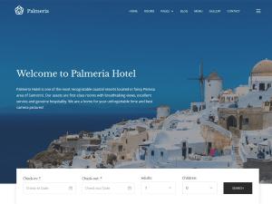 Palmeria Free WordPress theme