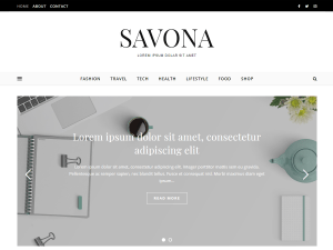 Savona Free WordPress theme