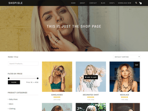 Shopisle Free WordPress themes