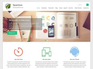 Spacious Free WordPress theme