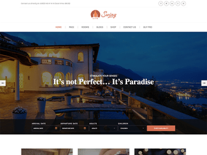 Swing Free WordPress theme
