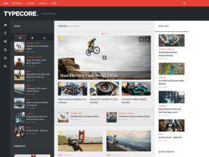 Typecore Free WordPress theme