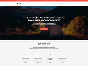 Vega Free WordPress theme