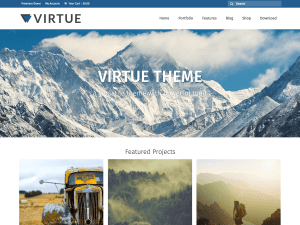 Virtue Free WordPress themes